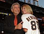 San Francisco Giants, S.F. Giants, photo, Tony Bennett, 2011